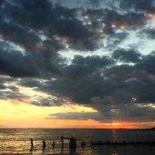 SandyHook-sunset
