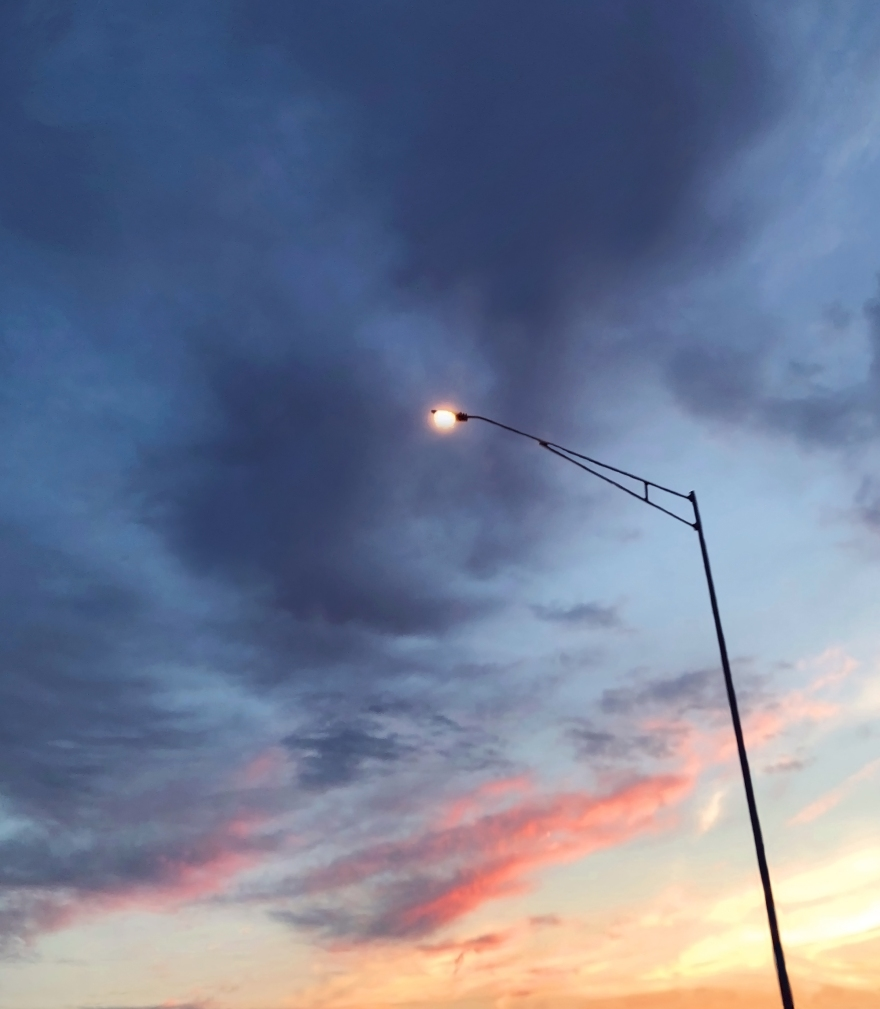 Streetlamp-Sunset